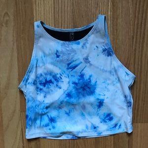 Onzie tie dye crop top